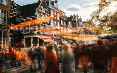 Amsterdam: Králův den