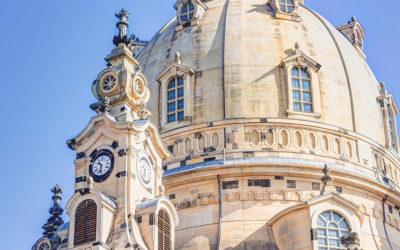 Drážďany a jejich slavný kostel Frauenkirche