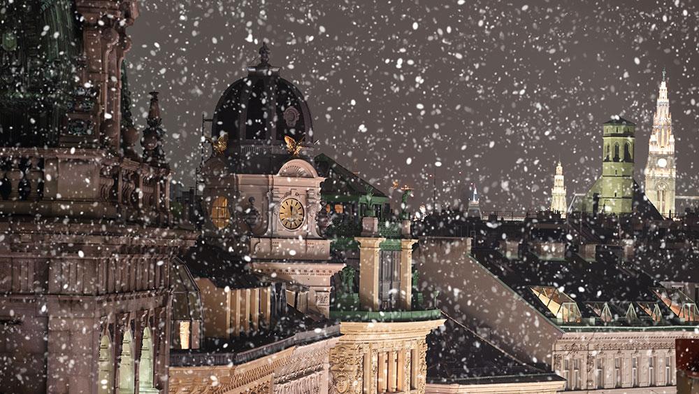 Zima ve Vídni: Jak se udržet v teple?